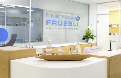 Huusarztpraxis Früebli im Gesundheitshaus